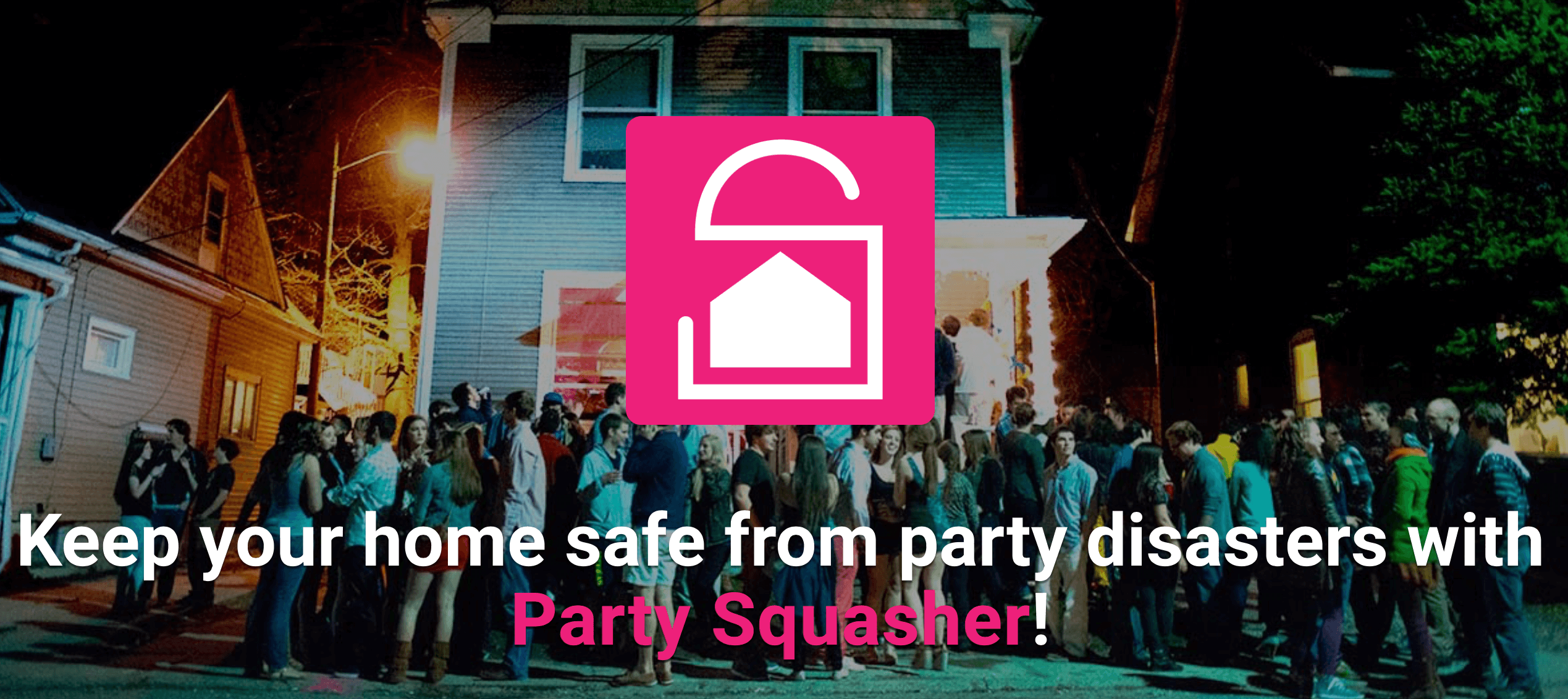 Party Squasher app