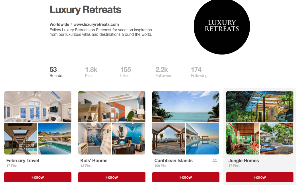 luxury retreats on Pinterest