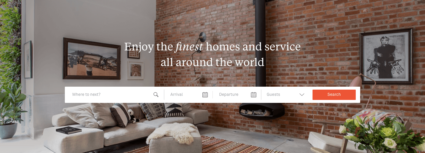 onefinestay channel management