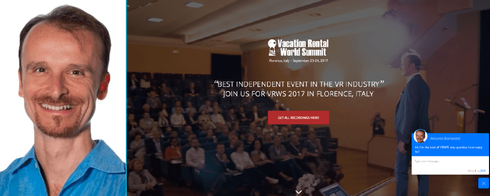 Antonio Bortolotti - The Vacation Rental World Summit