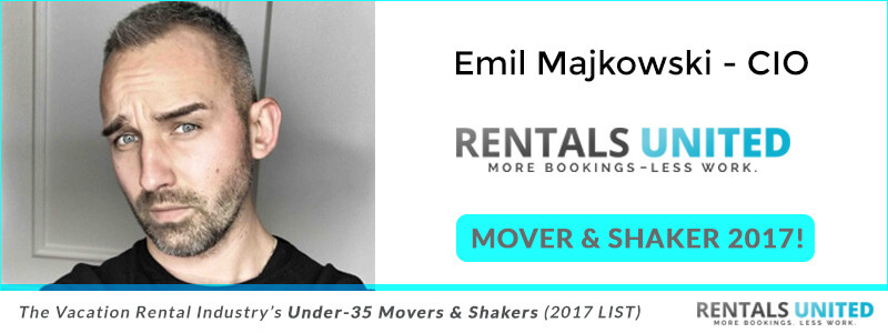 Under-35 Movers & Shakers Emil Majkowski