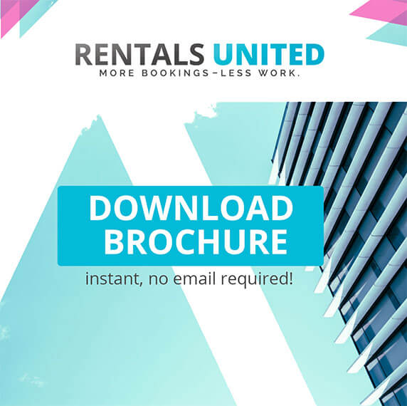 Rentals United Brochure | More Bookings, Less Work