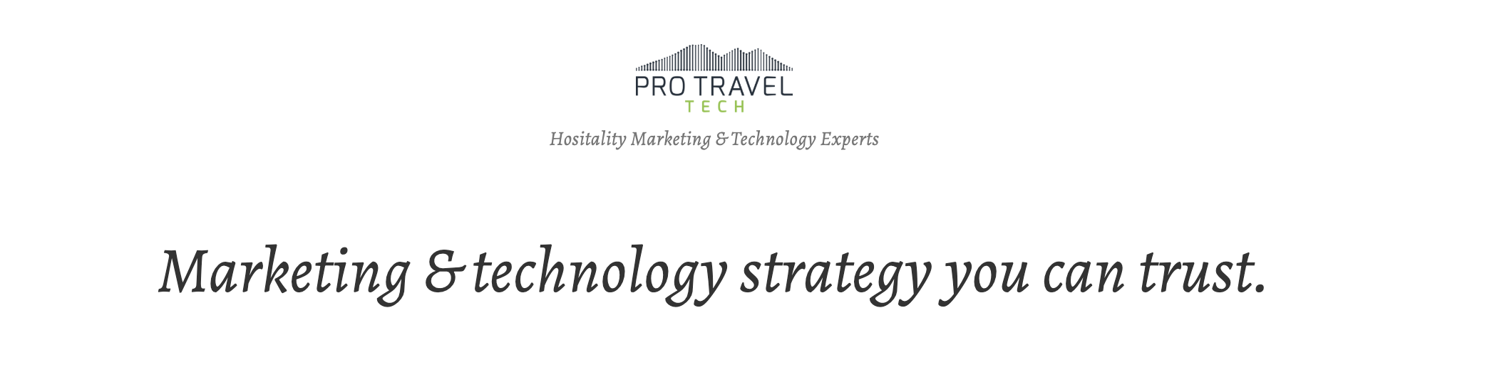 Vacation rental consultants - Pro Travel Tech