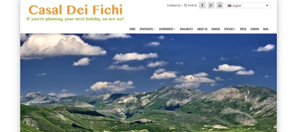 Responsible travel and vacation rentals - Casal dei Fichi property management