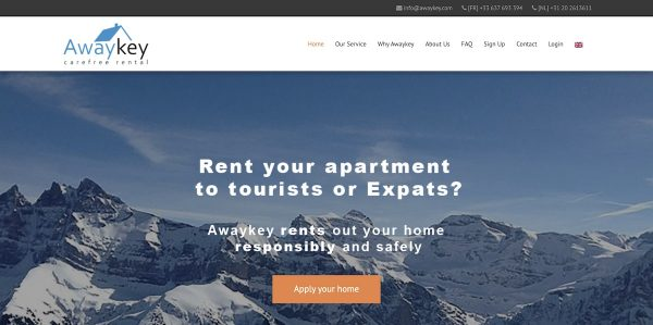 Awaykey vacation rental property management