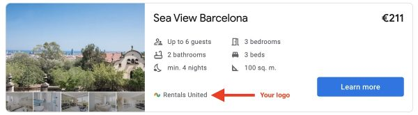 How to list your vacation rentals on Google