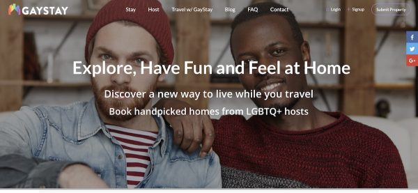 inclusive vacation rental websites gaystay