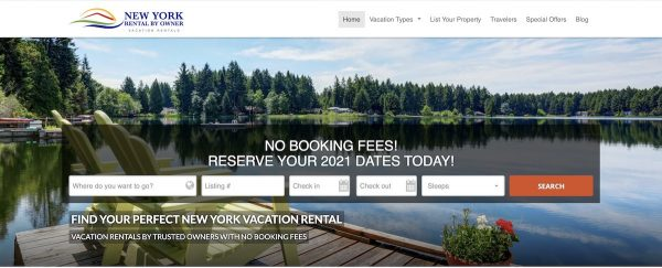 niche vacation rental websites