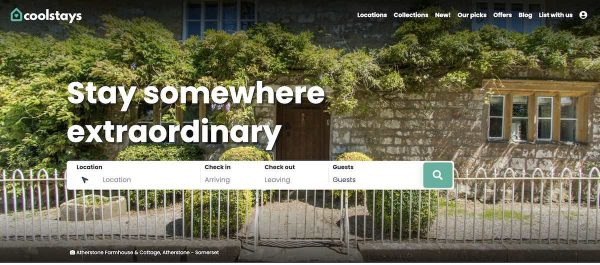 luxury vacation rental booking sites - coolstays
