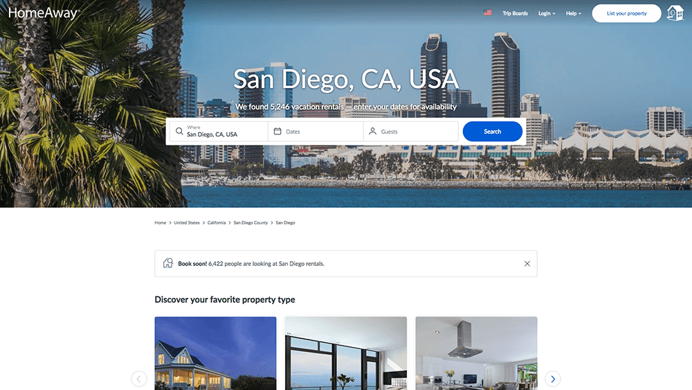 Channel Manager for HomeAway | Automatic Property Listing